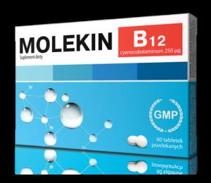 Molekin B12 tabl. 0,25 mg 60 tabl.