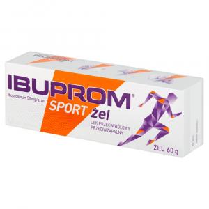 Ibuprom Sport żel żel 0,05 g/g 1 tub.a 60g