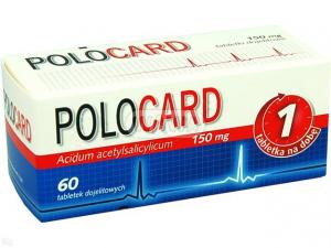 Polocard 150mg x 60tabl.dojel.