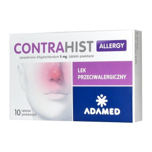 Contrahist Allergy 5mg x 10 tabl.
