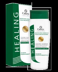 HEALING HERBAL Szampon przeciwłupieżowy do włosów tłustych 200ml