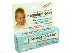Pasta NENEDENT BABY DO 1-SZYCH ZĄBKÓW