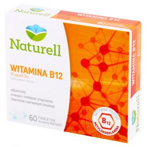 Witamina B12 tabl.0,1 60 tabl Naturell