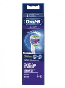 Oral-B końcówki 3D WHITE 3 szt.