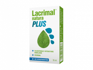 Lacrimal Natura Plus krople oczne 10ml