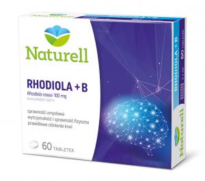 NATURELL Rhodiola + B tabl. 60 tabl.