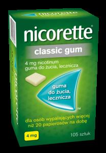 Nicorette Classic Gum 4mg x 105 gum