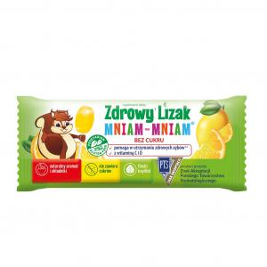 Zdrowy Lizak MNIAM-MNIAM cytryna 1 szt.