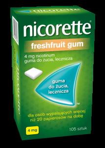 Nicorette FreshFruit 4mg 105 szt.