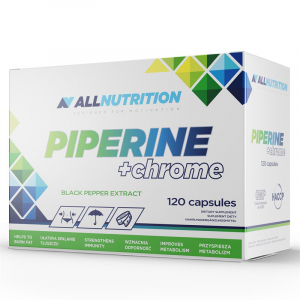 Allnutrition Piperine+ chrome kaps. 60kaps