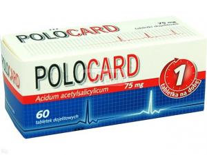 Polocard 75mg x 60 tabl.