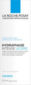 ROCHE HYDRAPHASE INTENSE LEGERE Krem 50ml