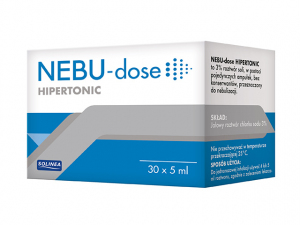 Nebu-Dose roztwór hipertoniczny - 30amp.