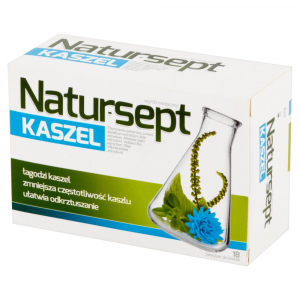 Natur-Sept Kaszel pastyl.dossania 18pastyl