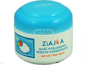 ZIAJA ZIAJKA Maść Pośladkowa p/odparz.50ml