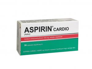 Aspirin Cardio 100mg 30tabl.PharmaVite