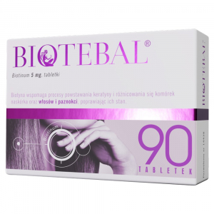 Biotebal 5mg x 90tabl.