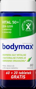 BODYMAX Vital 50+ 60+20 tabl. GRATIS
