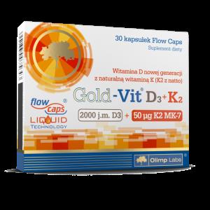 Olimp Gold-Vit D3 2000 j.m.+K2 kaps. 30kap