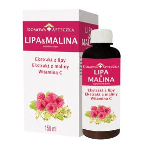 Lipa&Malina Domowa Apteczka płyn 150 ml