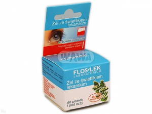 Flos-Lek żel świetlik do powiek