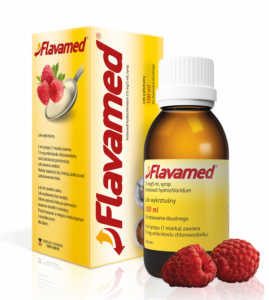 Flavamed syrop 15mg/5ml - 100ml