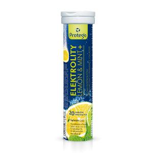 Protego Elektrolity Lemon Mint 20 tabl.mus.