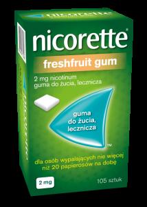 Nicorette FreshFruit 2mg 105 szt.