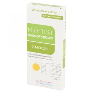 Test Multitest Amfetan.Kokaina Morfina THC