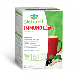 Naturell Immuno Hot saszet. 10 sasz.