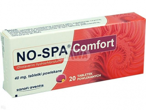 No-Spa 40mg Comfort x 20 tabl.powl.