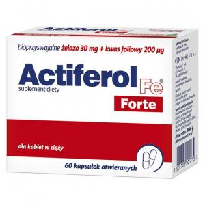 ActiFerol Fe Forte 60mg x 60 kaps.