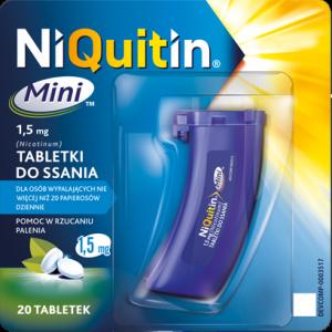 NiQuitin Mini 1,5mg x 20 tabl.