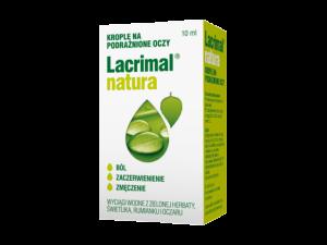 Lacrimal natura krople oczne 10ml