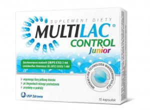 Multilac Control Junior x 15kaps.