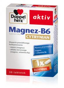 Doppelherz aktiv Magnez-B6 Cytrynian 30tab