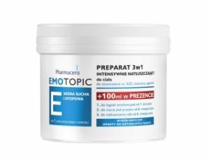 ERIS EMOTOPIC Preparat 3 w 1 Intensywnie natłuszczający do ciała 500 ml