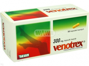 Venotrex 300mg x 50 kaps.