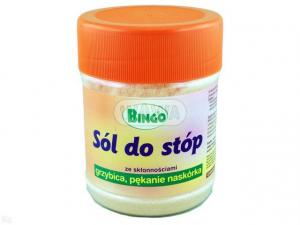Sól do stóp BINGO p/grzybicy i pęk.naskór