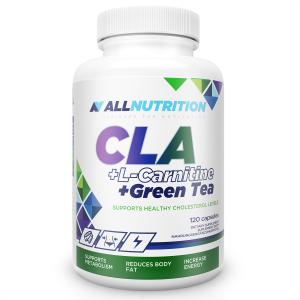 Allnutrition CLA + L-carnitine + Green tea 120 kaps.