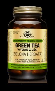SOLGAR Green Tea wyciąg z liści Zielona He