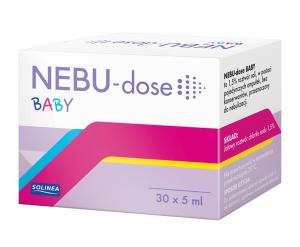 NEBU-dose BABY płyn do inh. 30 amp.a 5ml