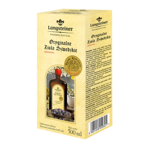 Langsteiner Oryginalne Zioła Szwedzkie płyn 500 ml