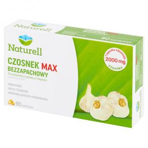 Naturell Czosnek MAX Bezzapachowy kaps. 90