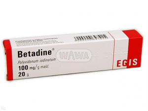 Betadine 10% maść 20g