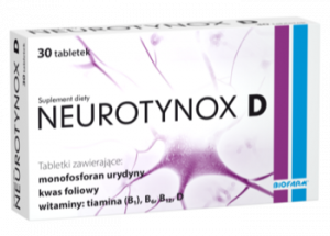 Neurotynox D tabl. 30 tabl.