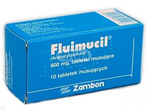 Fluimucil Forte 600mg x 10 tabl.musujących