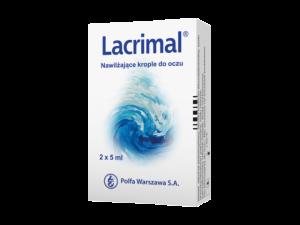 Lacrimal nawilżające krople oczne 2x5ml