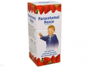 Paracetamol Hasco 120mg/5ml 150g