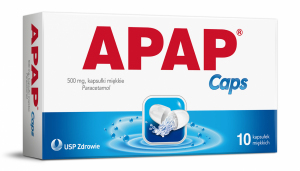 APAP Caps 500mg x 10kaps.